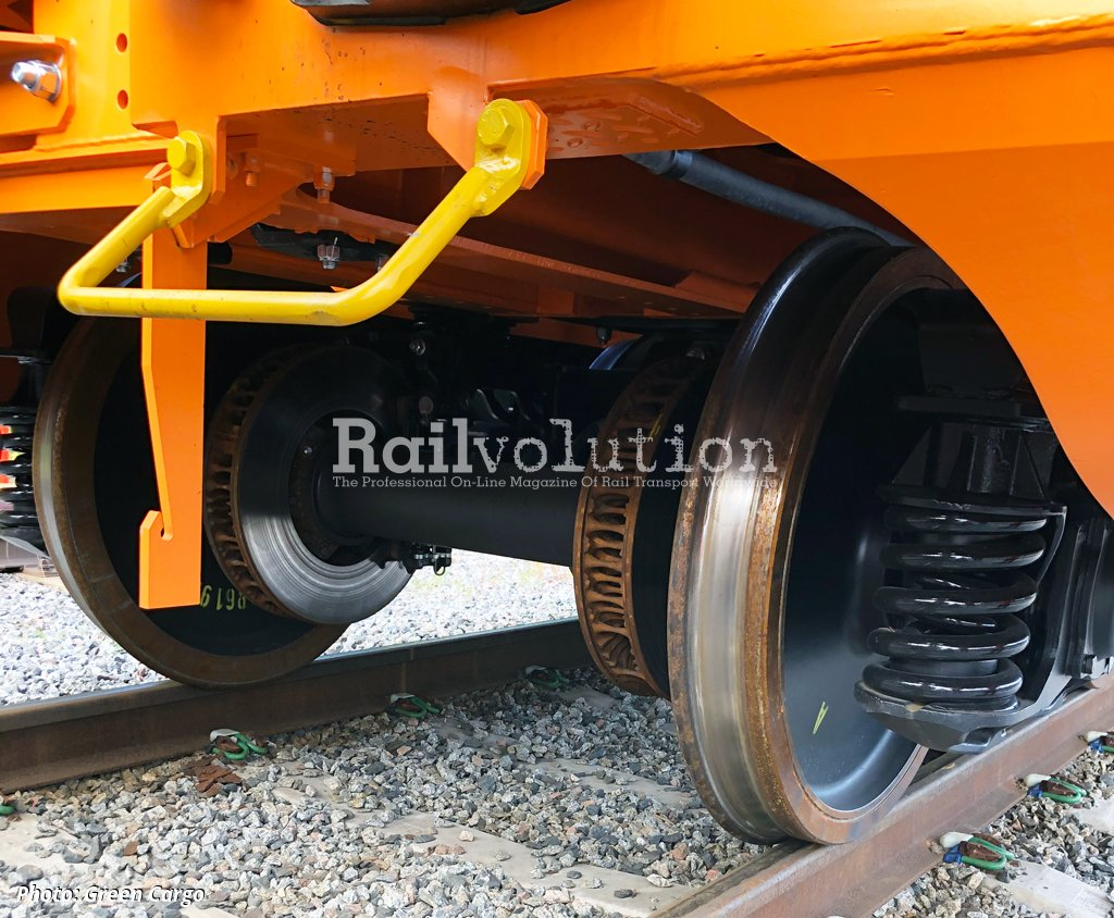New Wagons At Green Cargo For Ssab Steel Transports Railvolution