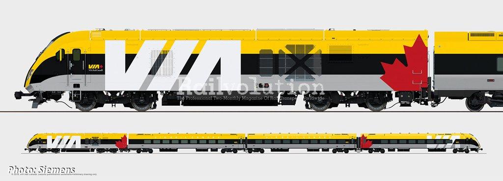 New Intercity Trains For VIA Rail Canada | Railvolution