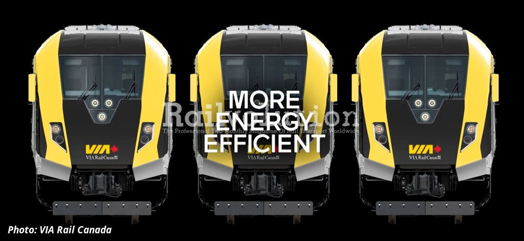 Air Suspension System >> New Intercity Trains For VIA Rail Canada   Railvolution