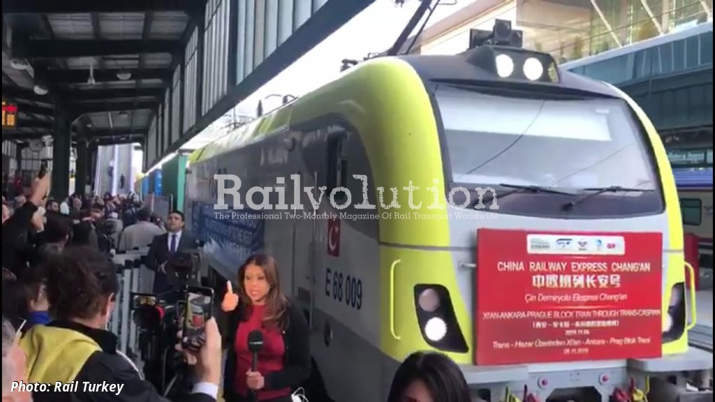 China To Europe Train Via Turkey Railvolution